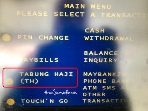 Cara Daftar Akaun Tabung Haji Online Ke Maybank2u